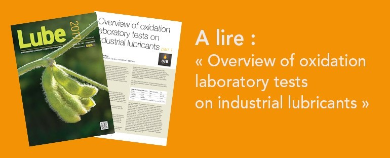 Lube Magazine : Overview of oxidation laboratory tests on industrial lubricants