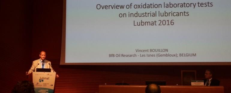 Tests d'oxydation sur les lubrifiants industriels – Conférence BfB