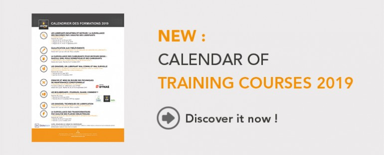 The training calendar 2019 is available