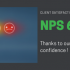 Clients satisfaction : NPS 63