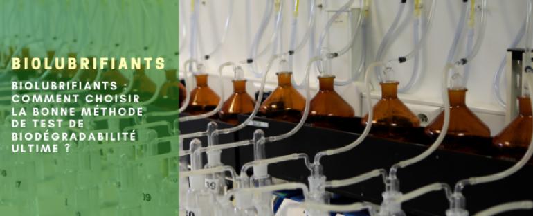 Biodégradabilité ultime : méthode d'essai